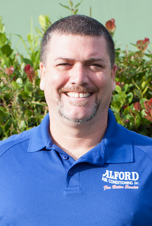 Chris Lundy, General Manager at the Jupiter AC Experts Alford Air Conditioning