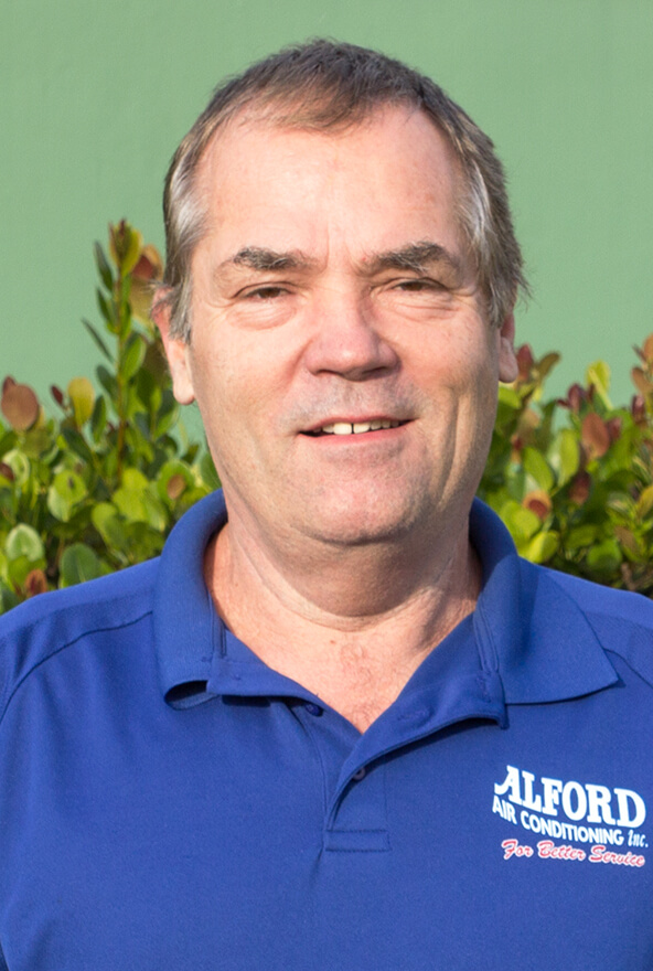 Mark Trew, Technician (Marine Division) at the Jupiter AC Experts Alford Air Conditioning