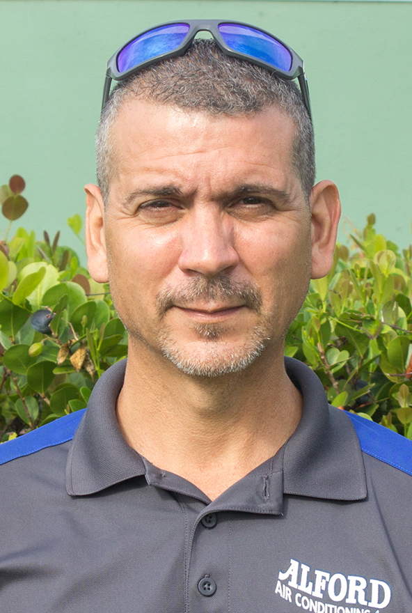 Louis Berrios, Technician at the Jupiter AC Experts Alford Air Conditioning