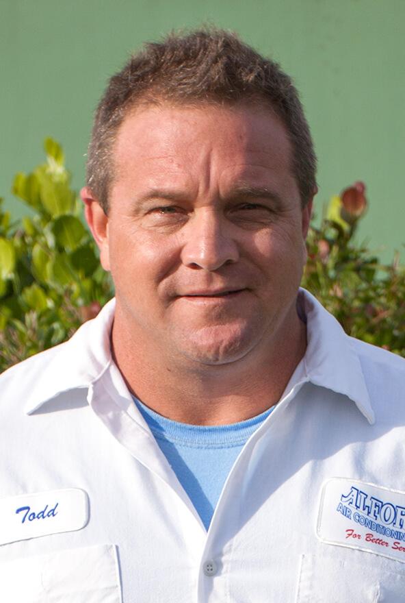Todd Johnson, Installer at the Jupiter AC Experts Alford Air Conditioning